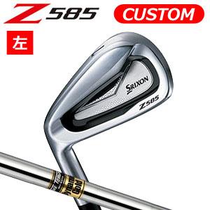 ダンロップ 【左用】 srixon(スリクソン) NEW SRIXON Z85 シリーズ Z 585 アイアン6本セット(#5~9,PW) Dynamic Gold スチールシャフト (日本正規品)《カスタムオーダー》 【受注生産】