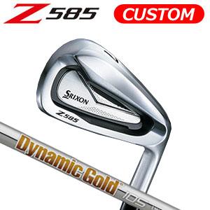 ダンロップ srixon(スリクソン) NEW SRIXON Z85 シリーズ Z 585 アイアン6本セット(#5~9,PW) Dynamic Gold 105 スチールシャフト (日本正規品)《カスタムオーダー》 【受注生産】