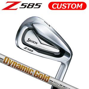 ダンロップ srixon(スリクソン) NEW SRIXON Z85 シリーズ Z 585 アイアン単品(#4,AW,SW) Dynamic Gold 120 スチールシャフト (日本正規品)《カスタムオーダー》 【受注生産】