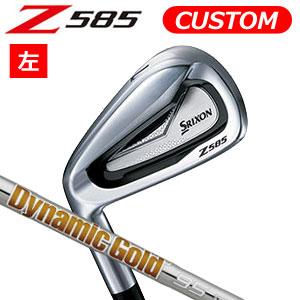 ダンロップ 【左用】 srixon(スリクソン) NEW SRIXON Z85 シリーズ Z 585 アイアン6本セット(#5~9,PW) Dynamic Gold 95 スチールシャフト (日本正規品)《カスタムオーダー》 【受注生産】