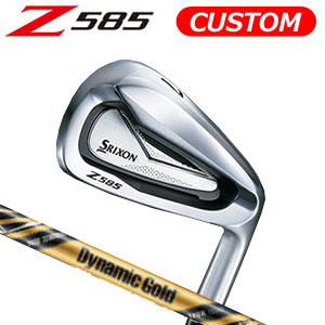 ダンロップ srixon(スリクソン) NEW SRIXON Z85 シリーズ Z 585 アイアン6本セット(#5~9,PW) Dynamic Gold TOUR ISSUE Design Tuning スチールシャフト (日本正規品)《カスタムオーダー》 【受注生産】