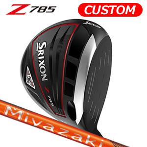 ダンロップ srixon(スリクソン) NEW SRIXON Z85 シリーズ Z785 ドライバー Miyazaki Kaula KIRI カーボンシャフト (日本正規品)《カスタムオーダー》 【受注生産】