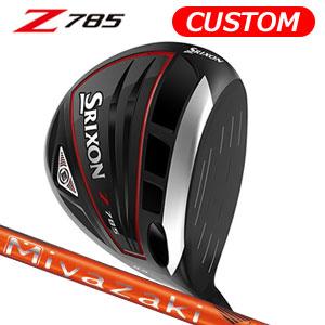ダンロップ srixon(スリクソン) NEW SRIXON Z85 シリーズ Z785 ドライバー Miyazaki Kaula MIZORE カーボンシャフト (日本正規品)《カスタムオーダー》 【受注生産】