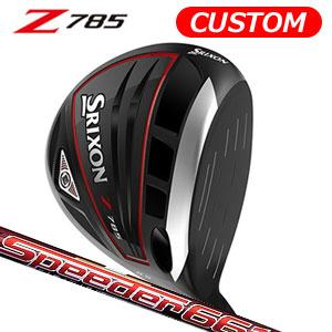 ダンロップ srixon(スリクソン) NEW SRIXON Z85 シリーズ Z785 ドライバー Speeder Evolution III カーボンシャフト (日本正規品)《カスタムオーダー》 【受注生産】