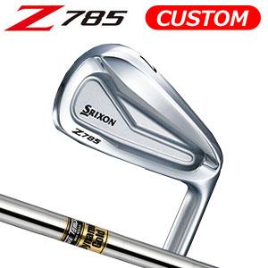 ダンロップ srixon(スリクソン) NEW SRIXON Z85 シリーズ Z 785 アイアン6本セット(#5~9,PW) Dynamic Gold スチールシャフト (日本正規品)《カスタムオーダー》 【受注生産】