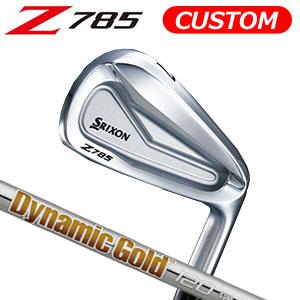 ダンロップ srixon(スリクソン) NEW SRIXON Z85 シリーズ Z 785 アイアン単品(#3,#4,AW,SW) Dynamic Gold 120 スチールシャフト (日本正規品)《カスタムオーダー》 【受注生産】