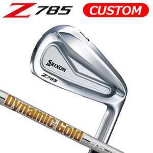 ダンロップ srixon(スリクソン) NEW SRIXON Z85 シリーズ Z 785 アイアン単品(#4,AW,SW) Dynamic Gold 95 スチールシャフト (日本正規品)《カスタムオーダー》 【受注生産】
