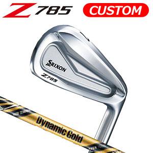 ダンロップ srixon(スリクソン) NEW SRIXON Z85 シリーズ Z 785 アイアン単品(#3,#4,AW,SW) Dynamic Gold TOUR ISSUE Design Tuning スチールシャフト (日本正規品)《カスタムオーダー》 【受注生産】