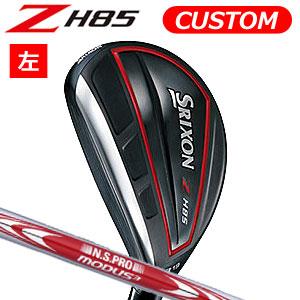 ダンロップ 【左用】 srixon(スリクソン) NEW SRIXON Z85 シリーズ Z H85 ハイブリッド N.S.PRO MODUS3 TOUR 105 スチールシャフト (日本正規品)《カスタムオーダー》 【受注生産】