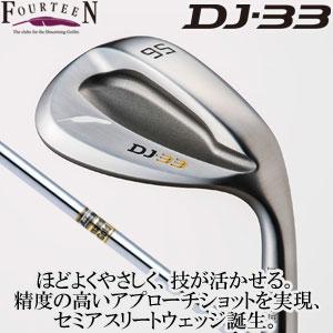 フォーティーン DJ-33 ウェッジ Dynamic Gold スチールシャフト