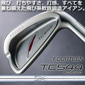 フォーティーン TC544 FORGED アイアン6本セット(#5~9,Pw)  N.S.PRO950GH HTスチールシャフト