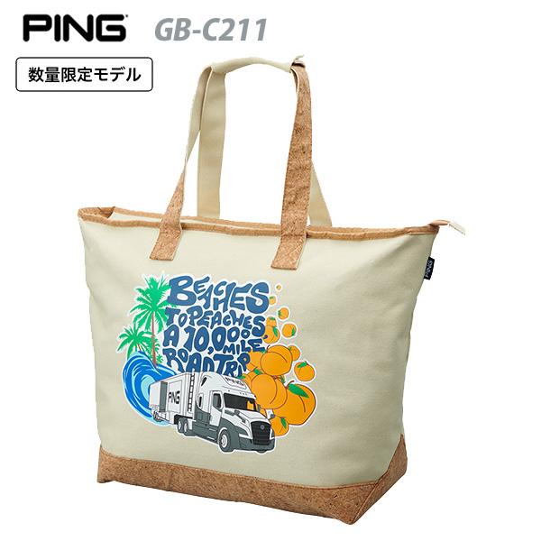 【数量限定品】 ピン トートバッグ GB-C211 【日本正規品】 PING BEACHES TO PEACHES TOTE