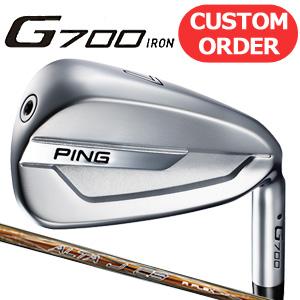 PING(ピン) G700 アイアン単品(#4-SW) カーボンシャフト (日本正規品) 《カスタムオーダー》 【受注生産】