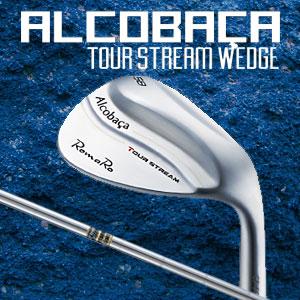 RomaRo(ロマロ) ALCOBACA TOUR STREAM ウェッジ Dynamic Goldスチールシャフト