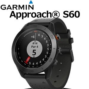 【即納】 GARMIN(ガーミン) GPSゴルフウォッチ Approach S60 Premium(Ceramic)