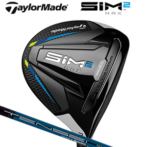 テーラーメイド SIM2 MAX フェアウェイウッド TENSEI BLUE TM50(2021) カーボンシャフト (日本正規品) 【標準品】 シム2マックス