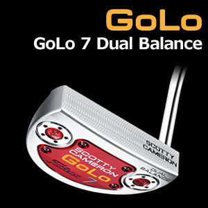【即納】 タイトリスト スコッティキャメロン GoLo GoLo7 Dual Balance (デュアルバランス)パター (日本正規品/限定モデル)【マレットタイプ】