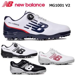 【即納】 new balance(ニューバランス) ソフトスパイク ゴルフシューズ MG1001V2
