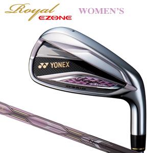 ヨネックス Royal EZONE Women's Royal Women's アイアン4本セット(#7~9,Pw) Royal EZONE専用カーボンシャフト, NINE SELECT:dc8c29af --- vietwind.com.vn