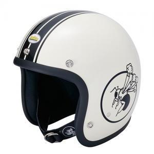 【BumBleBee・バンブルビー】BBHM-01Nヘルメット アイボリー