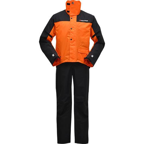 【YAMAHA・ヤマハ】【Y'S GEAR・ワイズギア】YAR19 サイバーテックス2 ダブルガードレインスーツ オレンジ(90792-R037)