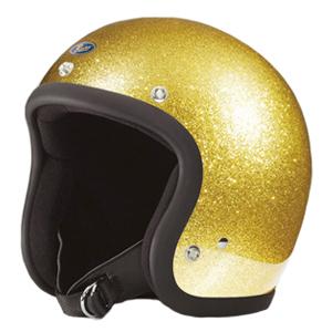 Buco ブコヘルメット スタンダード メタルフレーク ゴールド