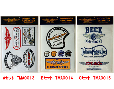 TOYS McCOY STICKER SEAT McCoy sticker sheet
