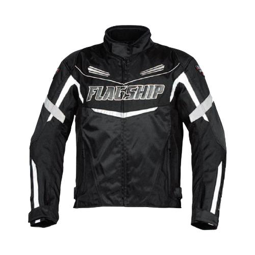 【FLAGSHIP・フラッグシップ】FJ-A192 SAW マルチシーズンジャケット ブラック【防水仕様】