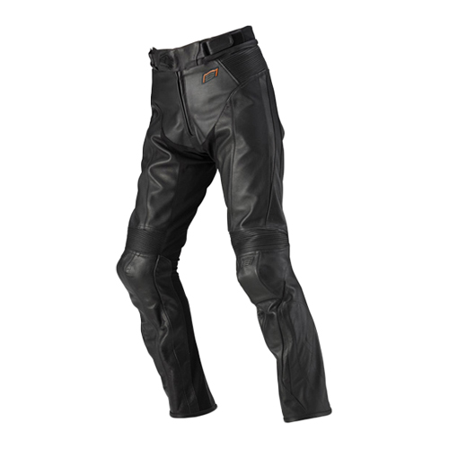 【HYOD・ヒョウドウ】HSP003N ST-X LEATHER PANTS(BOOTS-OUT) ブラック