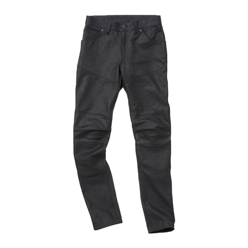 【HYOD・ヒョウドウ】SMP007 SMART LEATHER D3O® BIKERS PANTS ブラック