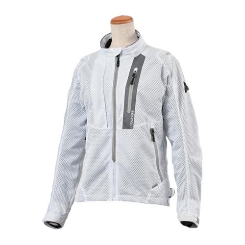 アーバニズム UNJ-078W ライドメッシュジャケット[WOMEN'S] ホワイト urbanism