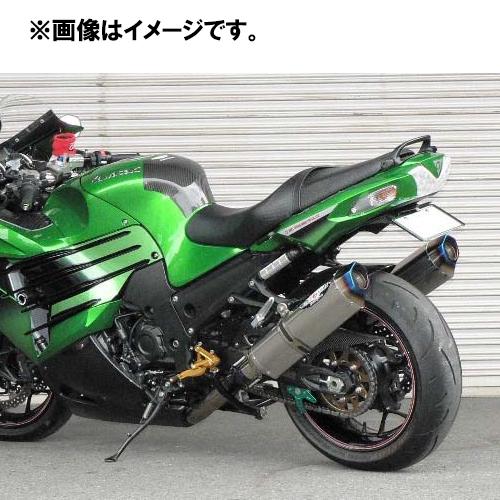 BEET 0222-KB6-50 Ninja ZX-14R('12~) NASSET Evolution Type2 スリップオンマフラー 4582346461449