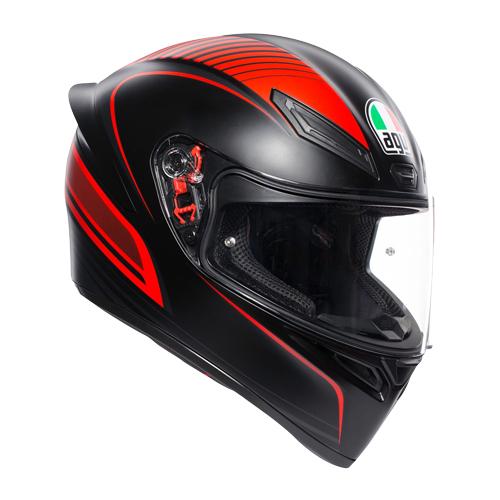 AGV 028192IY K1 MULTI JIS WARMUP MATT ブラック/レッド エージーブイ K1ヘルメット