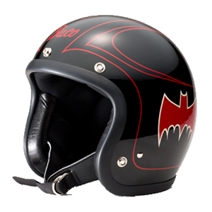 【Buco・ブコ】EXTRA BUCO HELMET BATMAN エクストラ ブコ ヘルメット バットマン ブラック/レッド