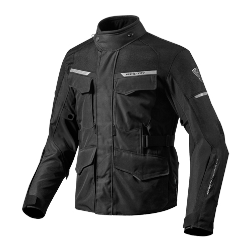 【REV'IT・レブイット】OUTBACK2 FJT208-1010 アウトバック2 テキスタイルジャケット ブラック