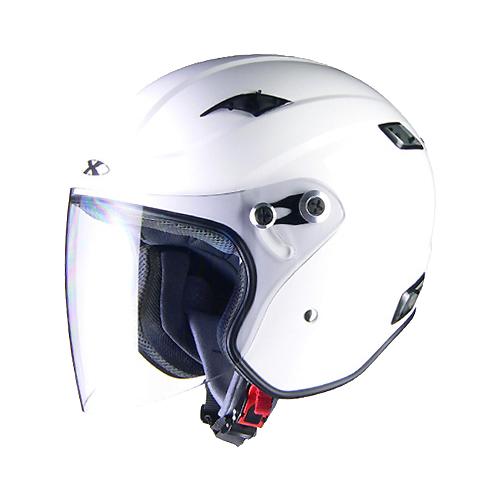 【LEAD・リード工業】X-AIR RAZZO-III エックスエアー ラッツォ3 ジェットヘルメット ホワイト