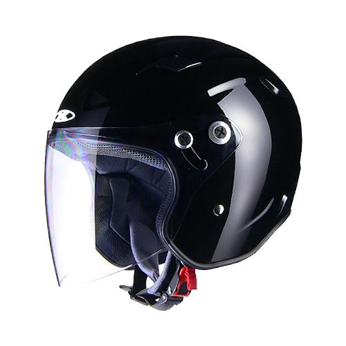 【LEAD・リード工業】X-AIR RAZZO-III エックスエアー ラッツォ3 ジェットヘルメット ブラック
