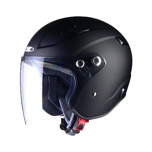 【LEAD・リード工業】X-AIR RAZZO-III エックスエアー ラッツォ3 ジェットヘルメット マットブラック