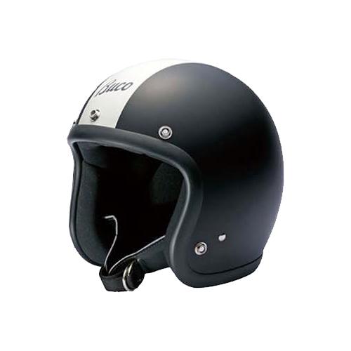 【Buco・ブコ】ブコヘルメット ベビーブコ ストライプ マットブラック/アイボリー