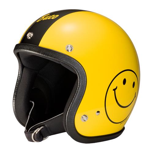 【Buco・ブコ】ブコヘルメット エクストラブコ スマイル 2018 イエロー