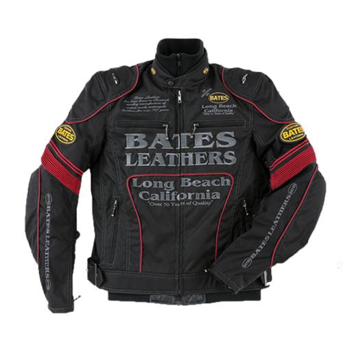 【値下げしました!】【BATES・ベイツ】【秋冬物】BJ-NA1851RS ナイロンジャケット(インナー付き) レッド