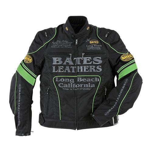 【値下げしました!】【BATES・ベイツ】【秋冬物】BJ-NA1851RS ナイロンジャケット(インナー付き) グリーン