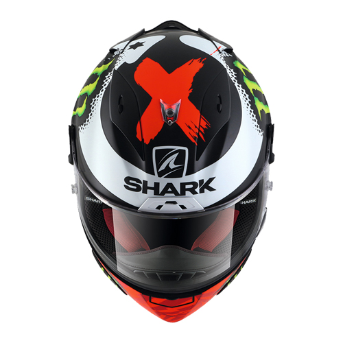 【SHARK・シャーク】RACE-R PRO REPLICA LORENZO MONSTER MAT レースアールプロ レプリカ ロレンソ モンスター マット 2017(Q1C-LIK-YO1-M_X05)