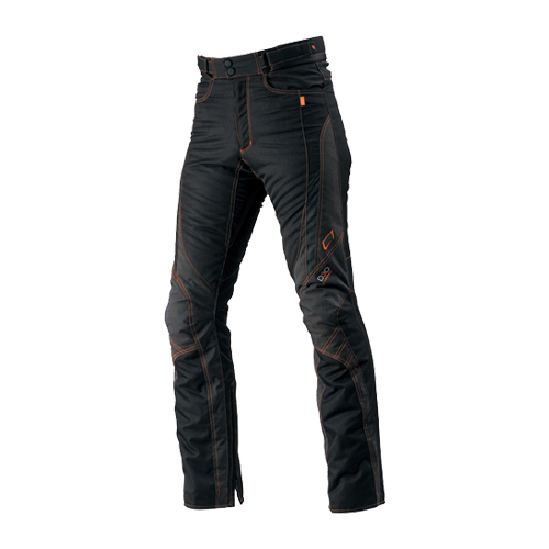 【HYOD・ヒョウドウ】STT504D ST-W D30® PANTS(STRAIGHT) BLACK/ORENGE STITCH
