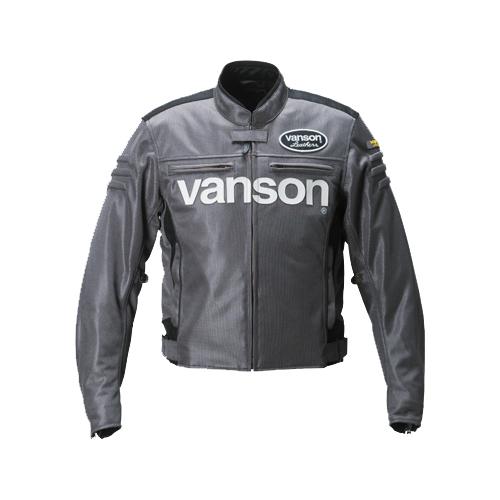【VANSON・ヴァンソン】【春夏物】VS19107S メッシュジャケット ガンメタル
