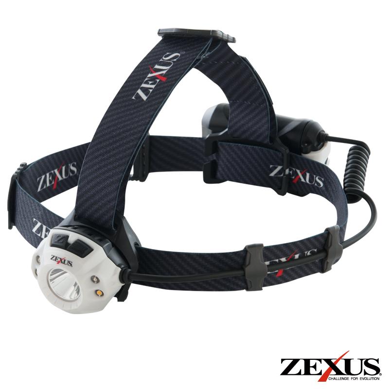 【7月12日は休業日となります。】ZEXUS LED ヘッドライト ZX-R350 充電タイプ