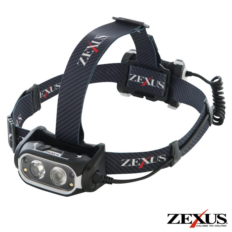 ZEXUS LED ヘッドライト ZX-R700 充電タイプ【ラッキーシール対応】