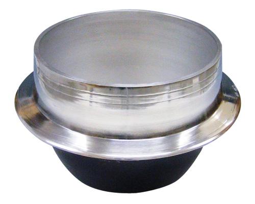 アルミ鋳物羽釜 カンなし 48cm 64L サイズ:深さ372mm ツバ下外径φ506mm ※お取寄商品