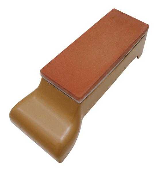 中華包丁用 砥石(カートリッジ式) 台付 サイズ:342×145×105mm ※お取寄商品