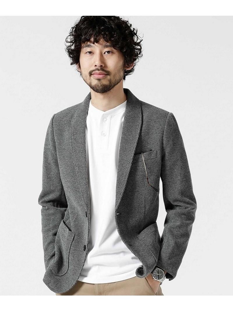 [Rakuten BRAND AVENUE]ハニカム鹿の子2Bジャケット nano・universe ナノユニバース コート/ジャケット【RBA_S】【送料無料】